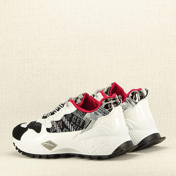 Sneakers negru cu alb Dana 5
