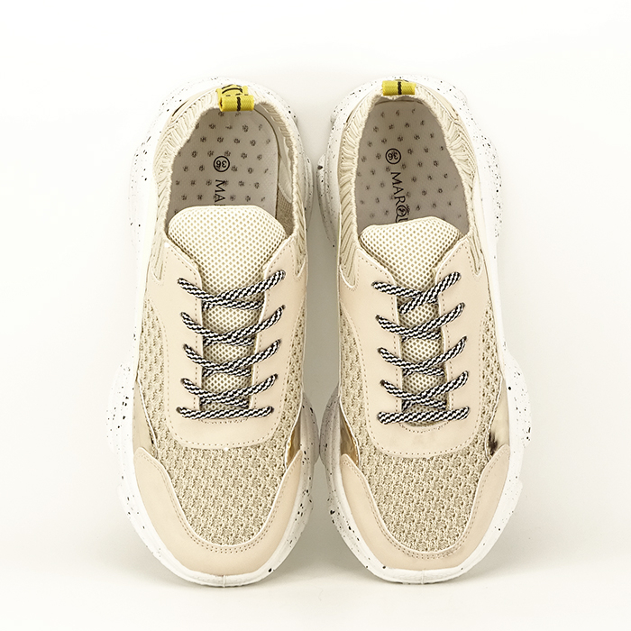 Sneakers bej Martina 4