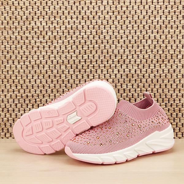 Tenisi copii roz cu pietre Natalia [7]