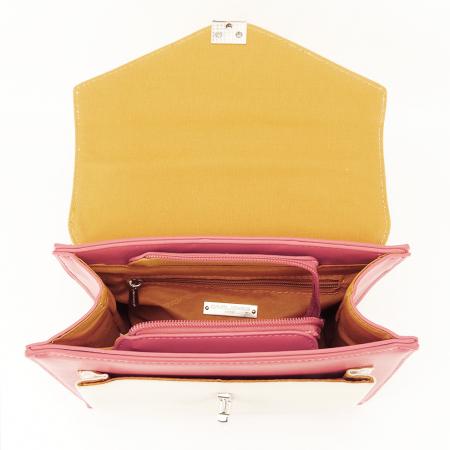 Geanta in trei culori Ami5