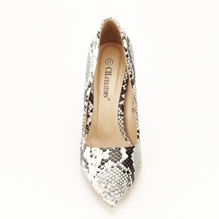Pantofi cu imprimeu de sarpe Adele5