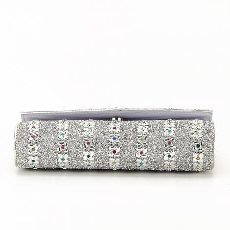 Plic argintiu decorat cu pietre Star4