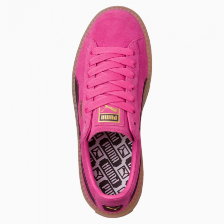 Puma Pantofi sport Casual Femei Puma Platform Trace Block Wn's din piele intoarsa3