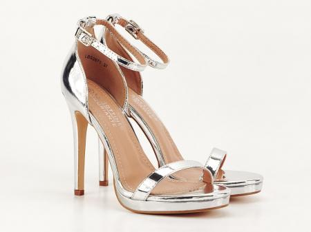 Sandale elegante argintii Dorothy 2 [1]