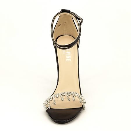 Sandale elegante negre Angelica5