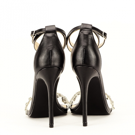 Sandale elegante negre Angelica6