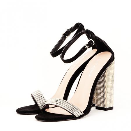 Sandale negre Agness2
