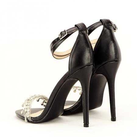 Sandale elegante negre Angelica4
