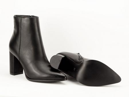 Botine negre elegante Ilaria7