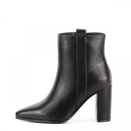 Botine negre office/casual Ginger0