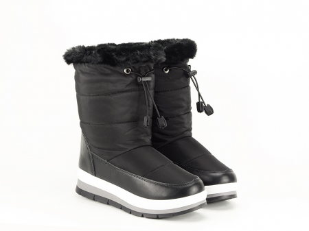 Cizme de zapada negre Winter5