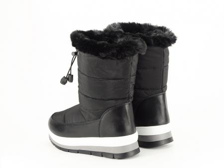 Cizme de zapada negre Winter8