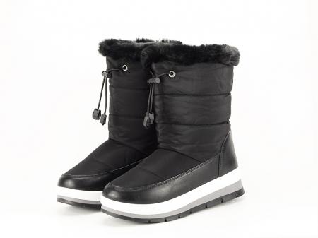 Cizme de zapada negre Winter1