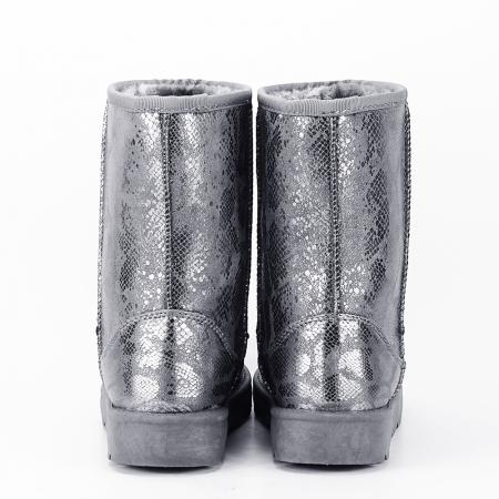 Cizme gri calduroase Lana6