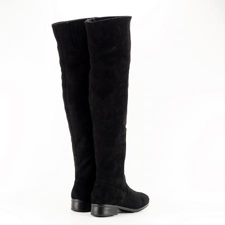 Cizme lungi negre Ramona [5]