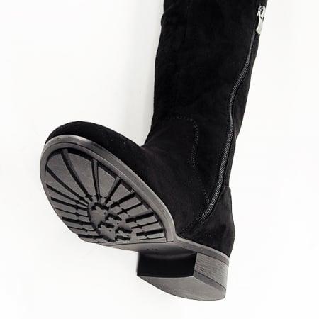 Cizme lungi negre Ramona8