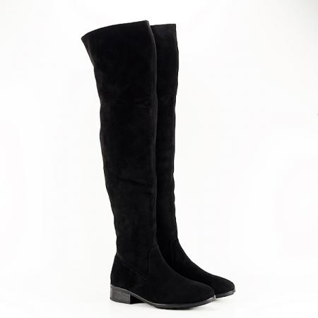 Cizme lungi negre Ramona [3]