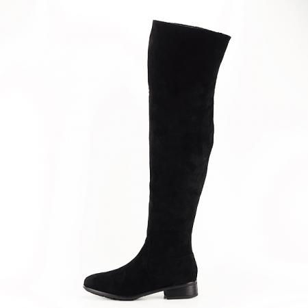 Cizme lungi negre Ramona [0]
