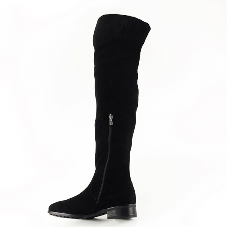 Cizme lungi negre Ramona1