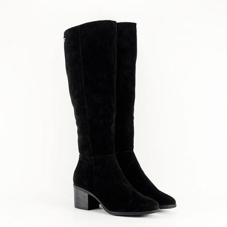 Cizme negre cu toc Roxana2