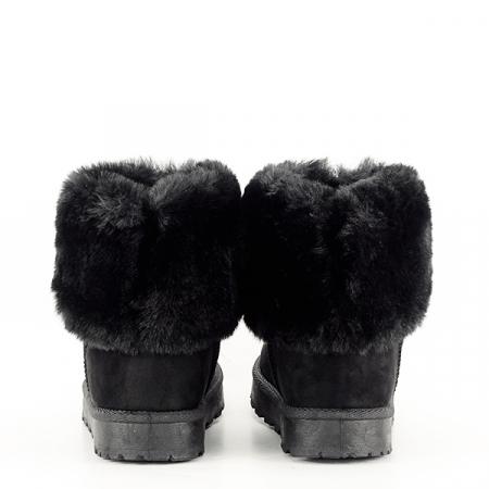 Cizme negre imblanite Brinda5