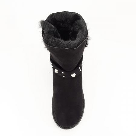 Cizme negre tip ugg Mia2