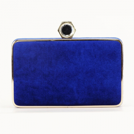 Geanta clutch albastra Beauty4