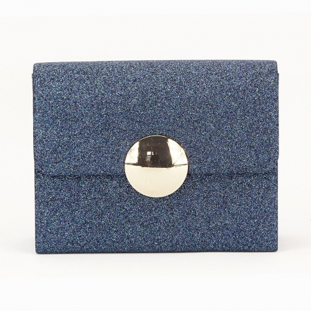 Geanta clutch albastru Emma1