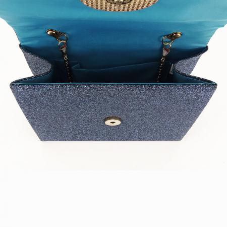 Geanta clutch albastru Emma5
