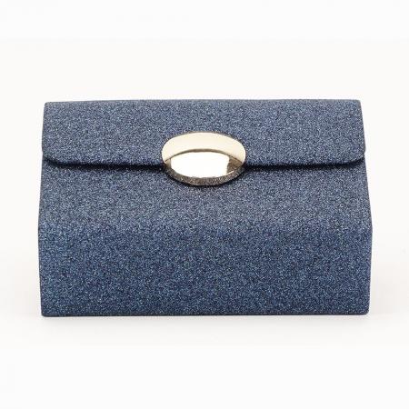 Geanta clutch albastru Emma4