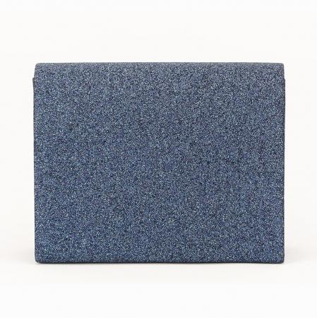 Geanta clutch albastru Emma2