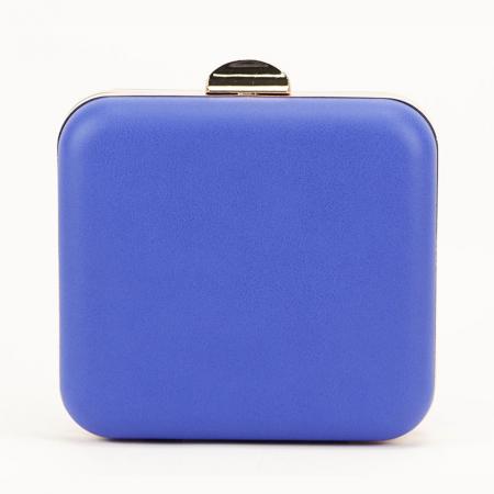 Geanta clutch albastru Ingrid3