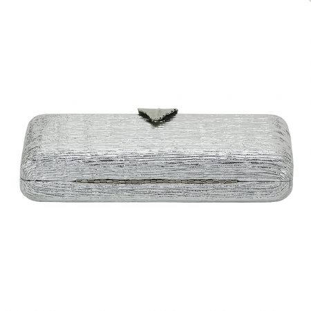 Geanta clutch argintie Nicole5