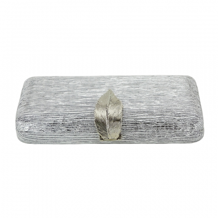 Geanta clutch argintie Nicole [4]