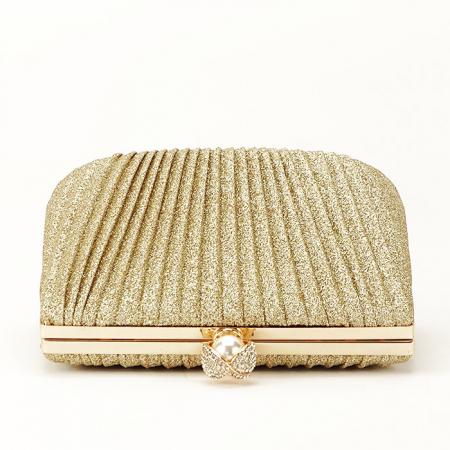 Geanta clutch auriu Ecaterina [6]