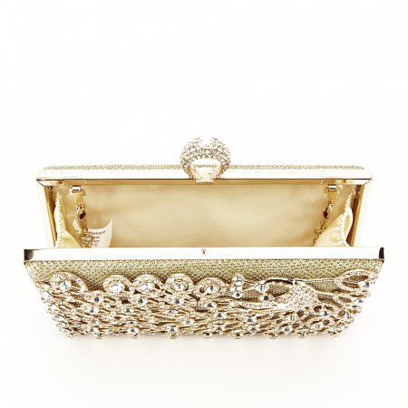 Geanta clutch auriu Rania [6]