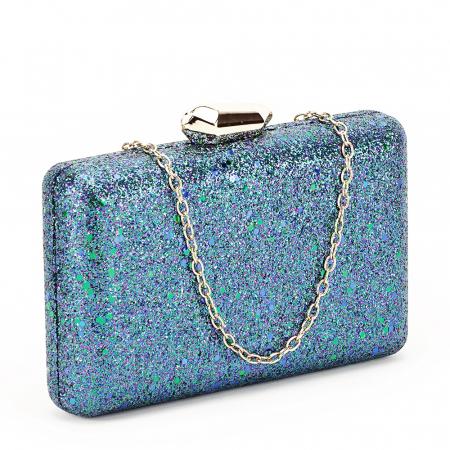 Geanta clutch bleumarin Sonia [0]