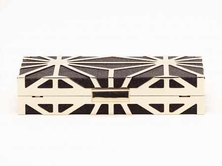 Geanta clutch neagra Alison5