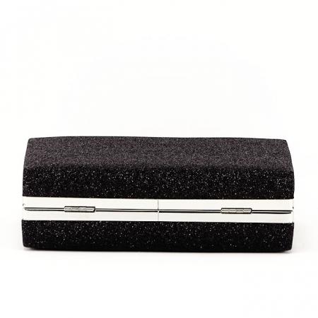 Geanta clutch negru Eliza3