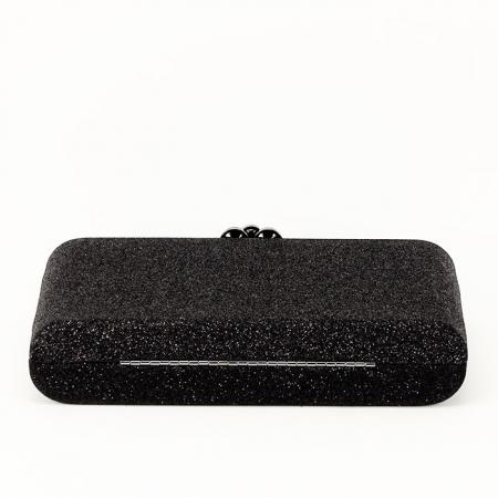 Geanta clutch negru Glory5