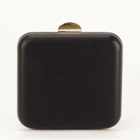 Geanta clutch negru Ingrid3