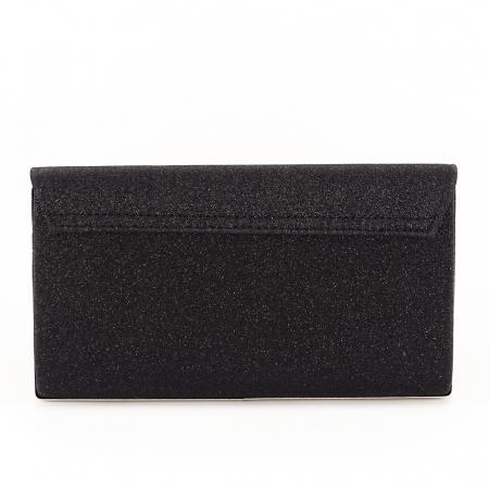 Geanta clutch negru elegant Bella4
