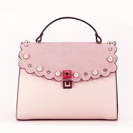 Geanta de talie mica roz Sweet0