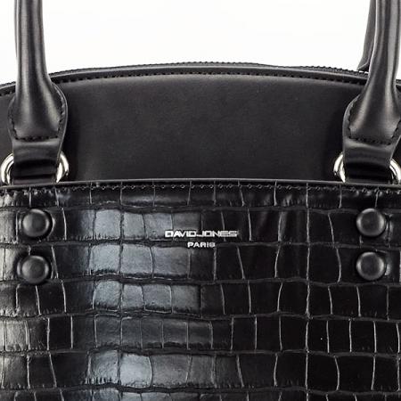 Geanta neagra cu imprimeu Ana6