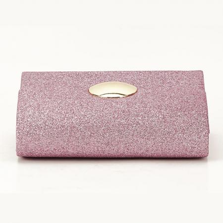 Geanta roz tip plic Emma5