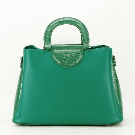 Geanta verde medie Alisa5