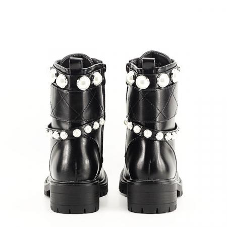 Ghete negre cu perle Denisa [5]
