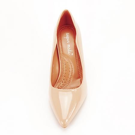 Pantofi bej lacuiti Tiffany [6]