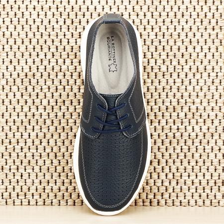 Pantofi piele naturala bleumarin Angela [6]