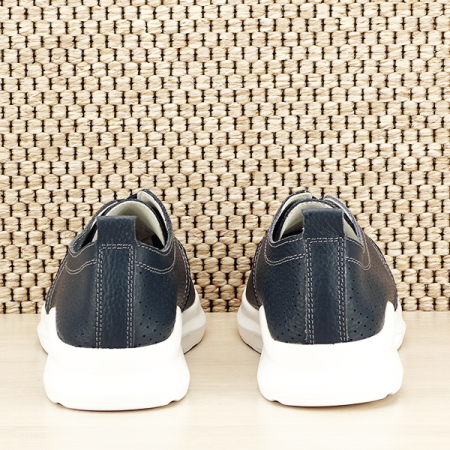 Pantofi piele naturala bleumarin Angela [5]